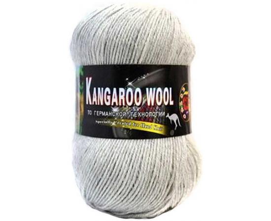 Пряжа COLOR CITY KANGAROO WOOL 29601 светло-серый меланж, Цвет: 29601 светло-серый меланж