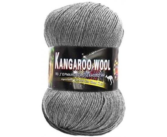 Пряжа COLOR CITY KANGAROO WOOL 29606 серый меланж, Цвет: 29606 серый меланж