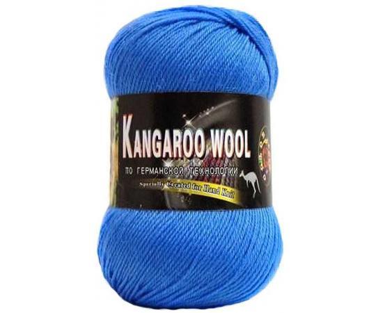 Пряжа COLOR CITY KANGAROO WOOL 308 яр.голубой, Цвет: 308 яр.голубой