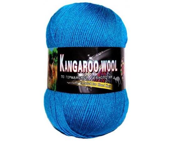 Пряжа COLOR CITY KANGAROO WOOL 316 т.бирюза, Цвет: 316 т.бирюза