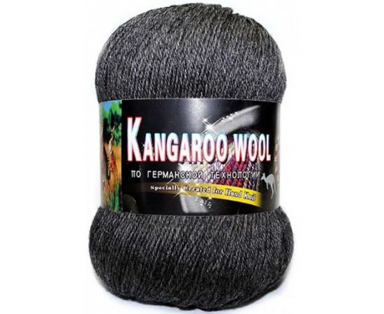 Пряжа COLOR CITY KANGAROO WOOL 69607 серый, Цвет: 69607 серый