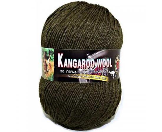 Пряжа COLOR CITY KANGAROO WOOL 2550 болотный, Цвет: 2550 болотный