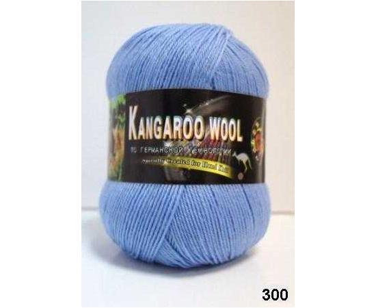 Пряжа COLOR CITY KANGAROO WOOL 300 т.голубой, Цвет: 300 т.голубой