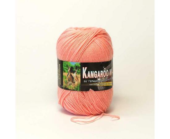 Пряжа COLOR CITY KANGAROO WOOL 270 персик, Цвет: 270 персик