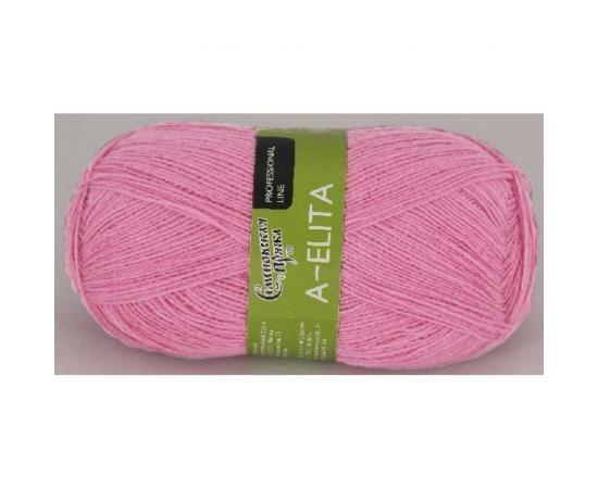 Пряжа Семеновская АЭЛИТА 132 фламинго, Цвет: 132 фламинго