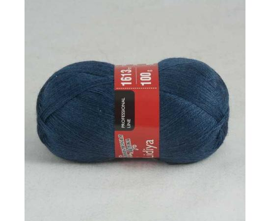 Пряжа Семеновская ЛИДИЯ ПШ 52035 синий т.мел, Цвет: 52035 синий т.мел