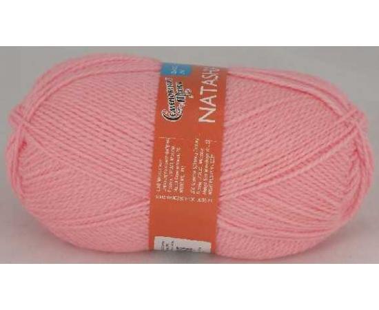 Пряжа Семеновская НАТАША ПШ 79 ярко-розовый, Цвет: 79 ярко-розовый