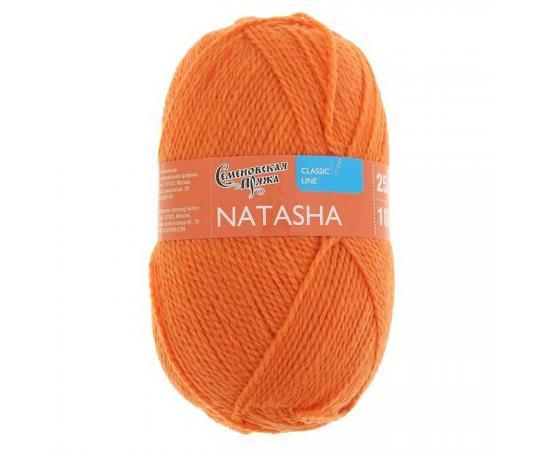 Пряжа Семеновская НАТАША ПШ 670 морков., Цвет: 670 морков.