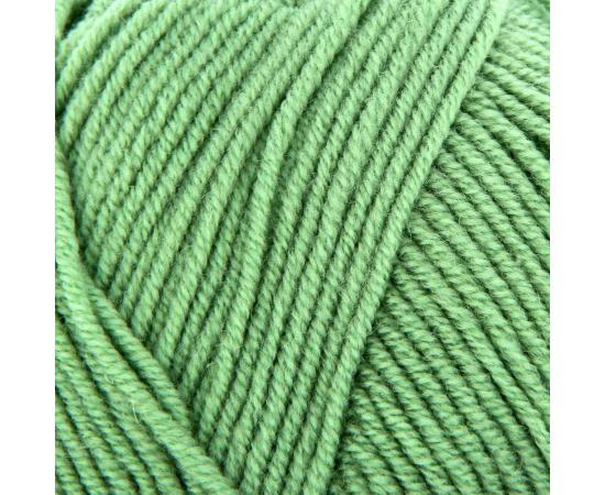 Пряжа Семеновская ЛИЛИЯ 122 зеленое яблоко, Цвет: 122 зеленое яблоко