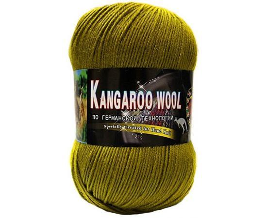 Пряжа COLOR CITY KANGAROO WOOL 2407 оливковый, Цвет: 2407 оливковый