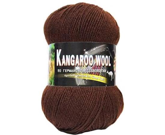 Пряжа COLOR CITY KANGAROO WOOL 2531 коричневый, Цвет: 2531 коричневый
