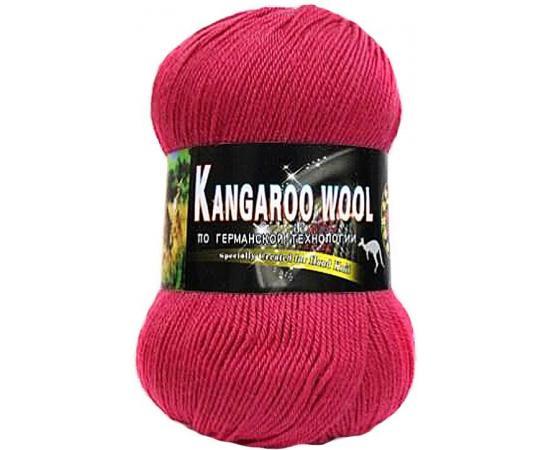 Пряжа COLOR CITY KANGAROO WOOL 2803 малина, Цвет: 2803 малина