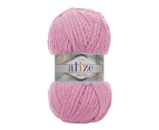 Пряжа ALIZE SOFTY PLUS 185 розовый, Цвет: 185 розовый