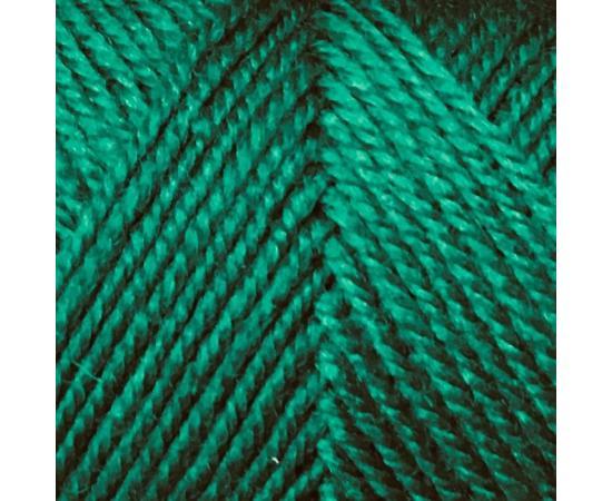 Пряжа COLOR CITY YAK WOOL (ЯК ВУЛ) 2421 зеленый, Цвет: 2421 зеленый