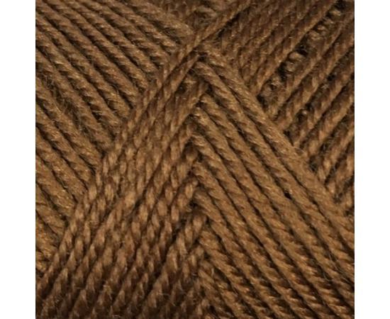 Пряжа COLOR CITY YAK WOOL (ЯК ВУЛ) 6517 коричневый, Цвет: 6517 коричневый
