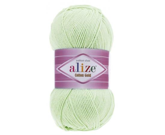 Пряжа Alize Cotton Gold - 478 бл.салат, Цвет: 478 бл.салат