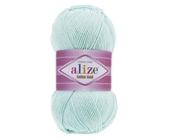 Пряжа Alize Cotton Gold - 514 ледяной, Цвет: 514 ледяной