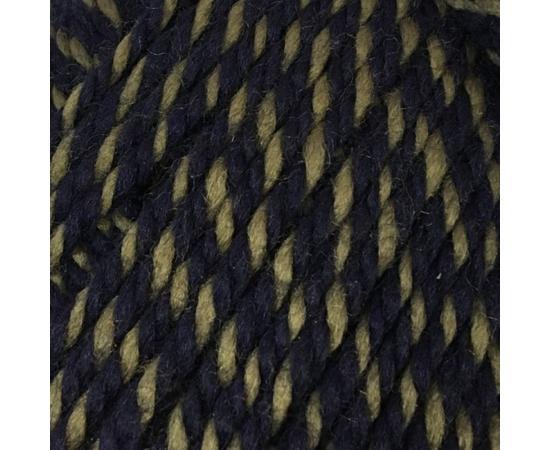Пряжа Color-City Альпака Кашемир - 804 тем.синий/хаки, Цвет: 804 тем.синий/хаки