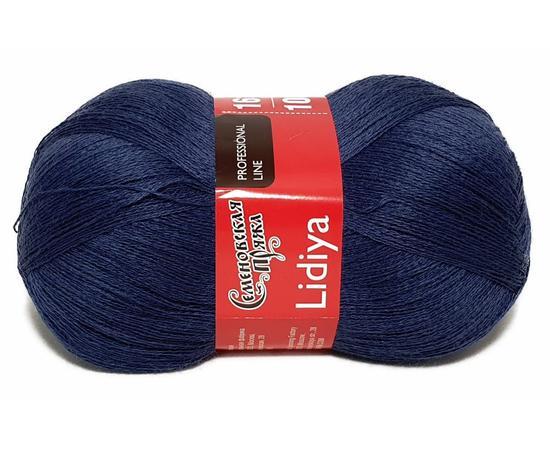 Пряжа Семеновская Лидия Пш - 16996 синие глубины, Цвет: 16996 синие глубины