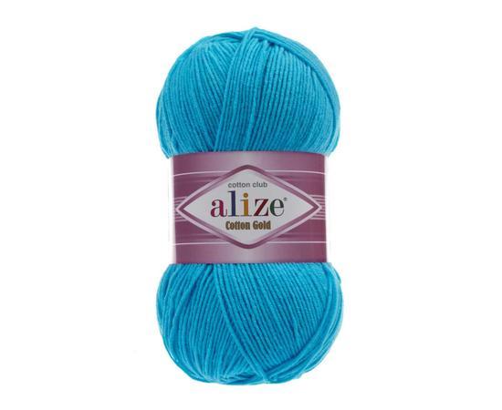 Пряжа Alize Cotton Gold - 16 гол.бирюза, Цвет: 16 гол.бирюза