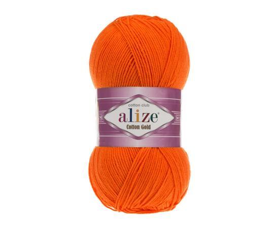 Пряжа Alize Cotton Gold - 37 оранжевый, Цвет: 37 оранжевый