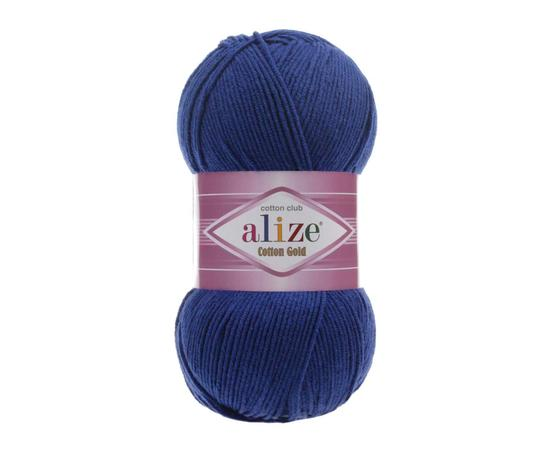 Пряжа Alize Cotton Gold - 389 индиго, Цвет: 389 индиго