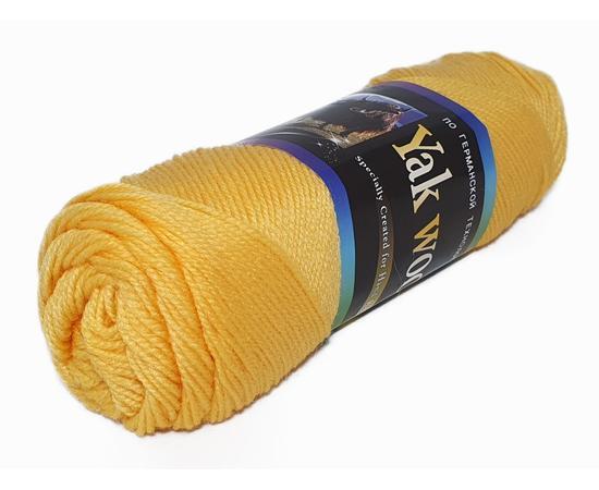 Пряжа Color-City Yak Wool (Як Вул) - 2103 желтый, Цвет: 2103 желтый
