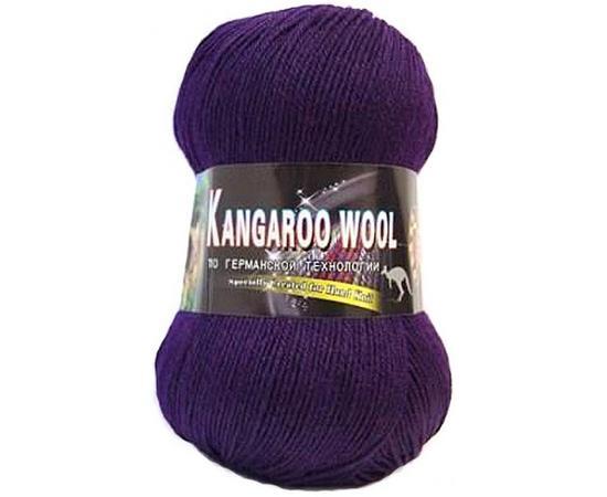 Пряжа Color-City Kangaroo Wool - 2236 баклажан, Цвет: 2236 баклажан
