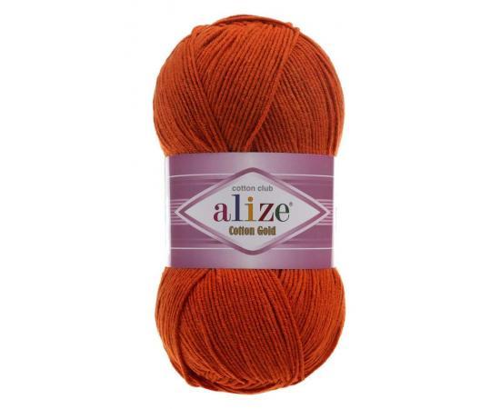 Пряжа Alize Cotton Gold - 36 терракот, Цвет: 36 терракот
