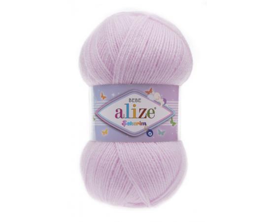 Пряжа Alize Sekerim Bebe - 275 лиловый, Цвет: 275 лиловый