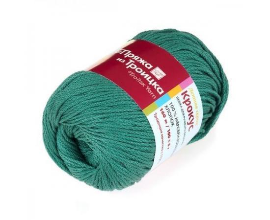Пряжа Троицкая Крокус - 2286 зеленый луг, Цвет: 2286 зеленый луг