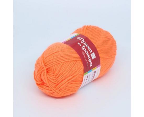 Пряжа Троицкая Мишель - 0498 яр.оранжевый, Цвет: 0498 яр.оранжевый