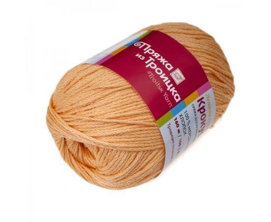 Пряжа Троицкая Крокус - 2866 персик, Цвет: 2866 персик