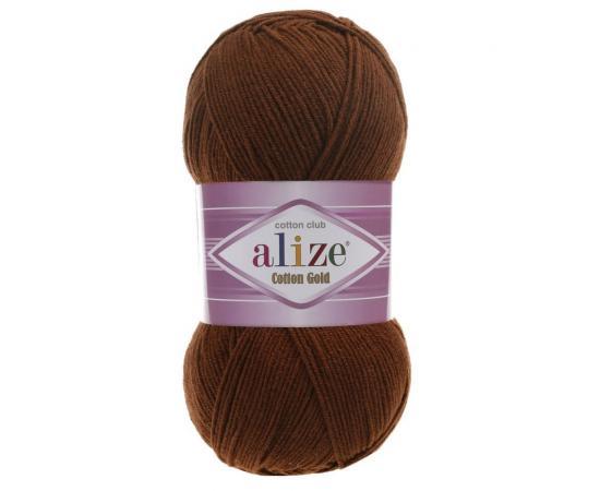 Пряжа Alize Cotton Gold - 690 тем.терракот, Цвет: 690 тем.терракот