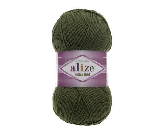 Пряжа Alize Cotton Gold - 29 хаки, Цвет: 29 хаки