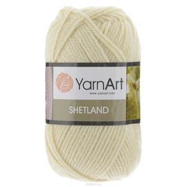 Пряжа Yarnart Shetland - 503 молочный, Цвет: 503 молочный