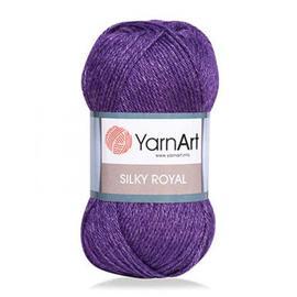 Пряжа Yarnart Silky Royal - 434 фиолет, Цвет: 434 фиолет