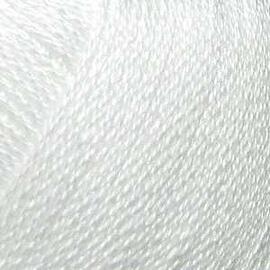 Пряжа Seam Anna Twist - 372 белый, Цвет: 372 белый