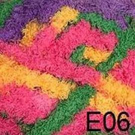 Пряжа Color-City King (Кинг) - 06 роз/желт/фиол/зел, Цвет: 06 роз/желт/фиол/зел