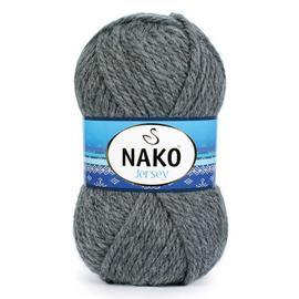 Пряжа Nako Jersey - 193 тем.серый, Цвет: 193 тем.серый