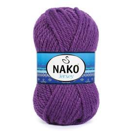 Пряжа Nako Jersey - 6965 баклажан, Цвет: 6965 баклажан