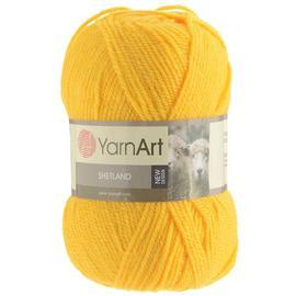 Пряжа Yarnart Shetland - 506 канарейка, Цвет: 506 канарейка