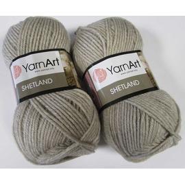 Пряжа Yarnart Shetland - 504 лен, Цвет: 504 лен