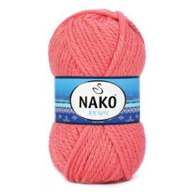 Пряжа Nako Jersey - 10313 коралл, Цвет: 10313 коралл