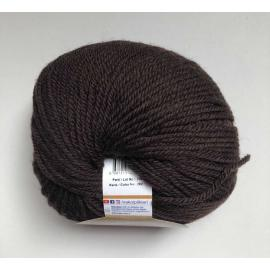 Пряжа Nako Merino Blend Dk - 282 тём.коричневый, Цвет: 282 тём.коричневый