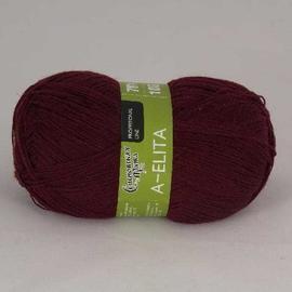 Пряжа Семеновская Аэлита - 13 бордо, Цвет: 13 бордо