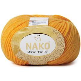 Пряжа Nako Merino Blend Dk - 3416 желток, Цвет: 3416 желток