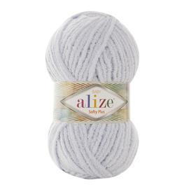 Пряжа Alize Softy Plus - 500 св.серый, Цвет: 500 св.серый