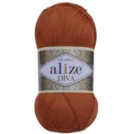 Пряжа Alize Diva - 36 терракот, Цвет: 36 терракот