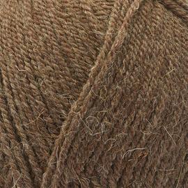 Пряжа Пехорка Носочная - 517 коричневый меланж, Цвет: 517 коричневый меланж